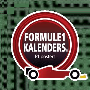 Formule1kalenders | Poster F1 kalender met starttijden en circuitinfo