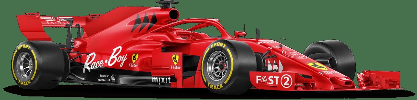 Formel1-agenda-kalender-poster