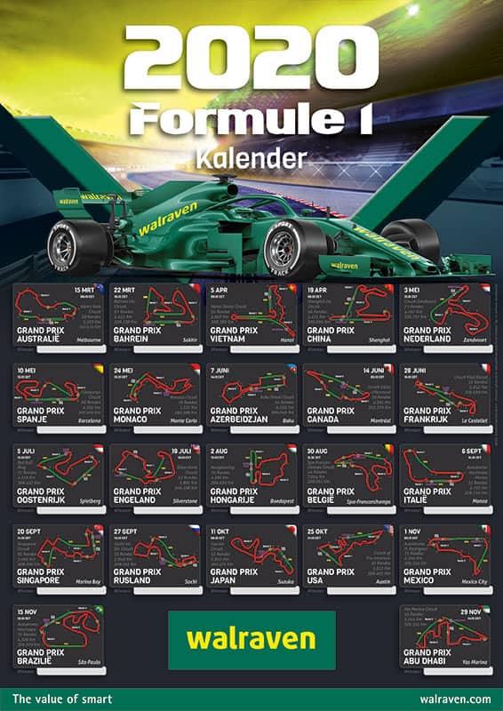 Start-f1-wedstrijden