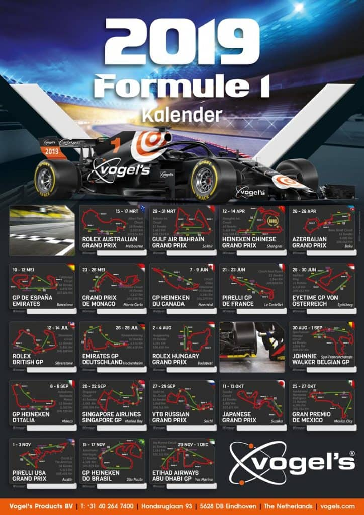 start-wedstrijd-overzicht-F1-posters